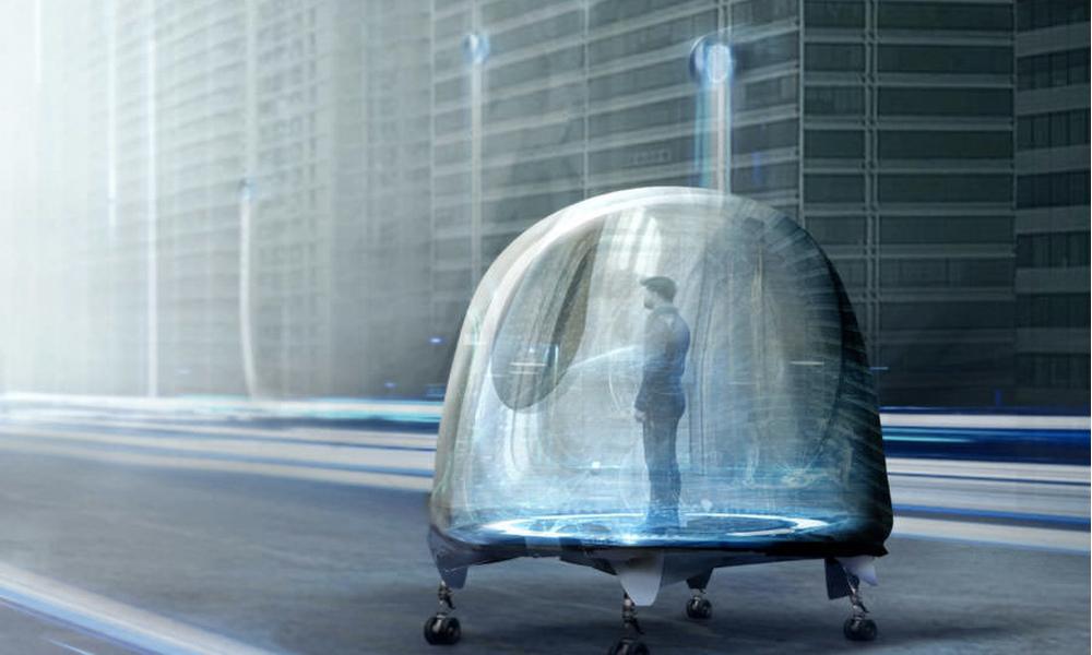 La voiture de demain, c'est peut-être cette capsule minimaliste
