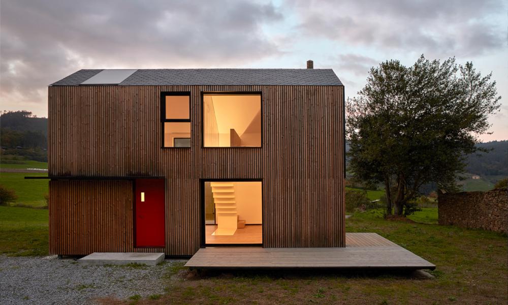 En Espagne, cette maison préfabriquée s'assemble en 5 heures chrono