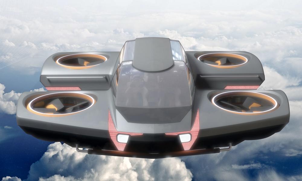 Embarquement immédiat dans la première voiture volante électrique
