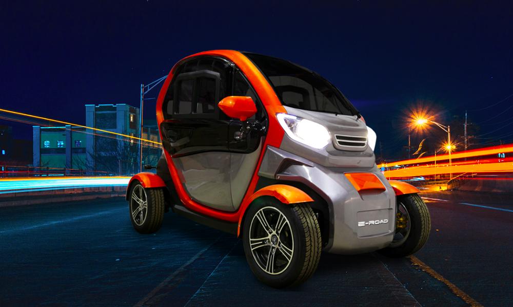 La première voiture sans permis 100% électrique vient d'arriver en France