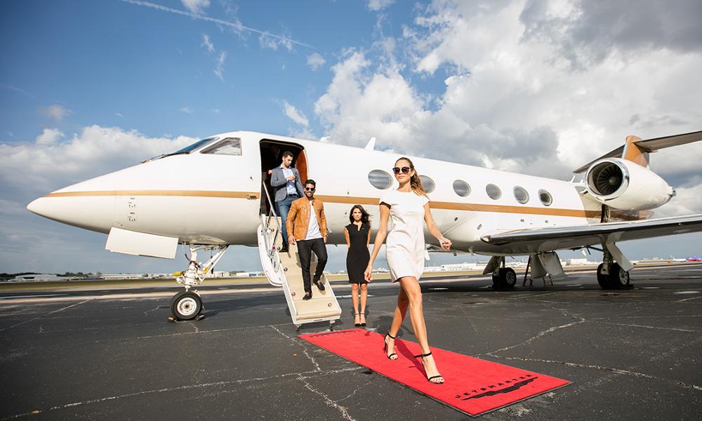 Merci les riches: en France, 1 vol sur 10 est un jet privé qui pollue