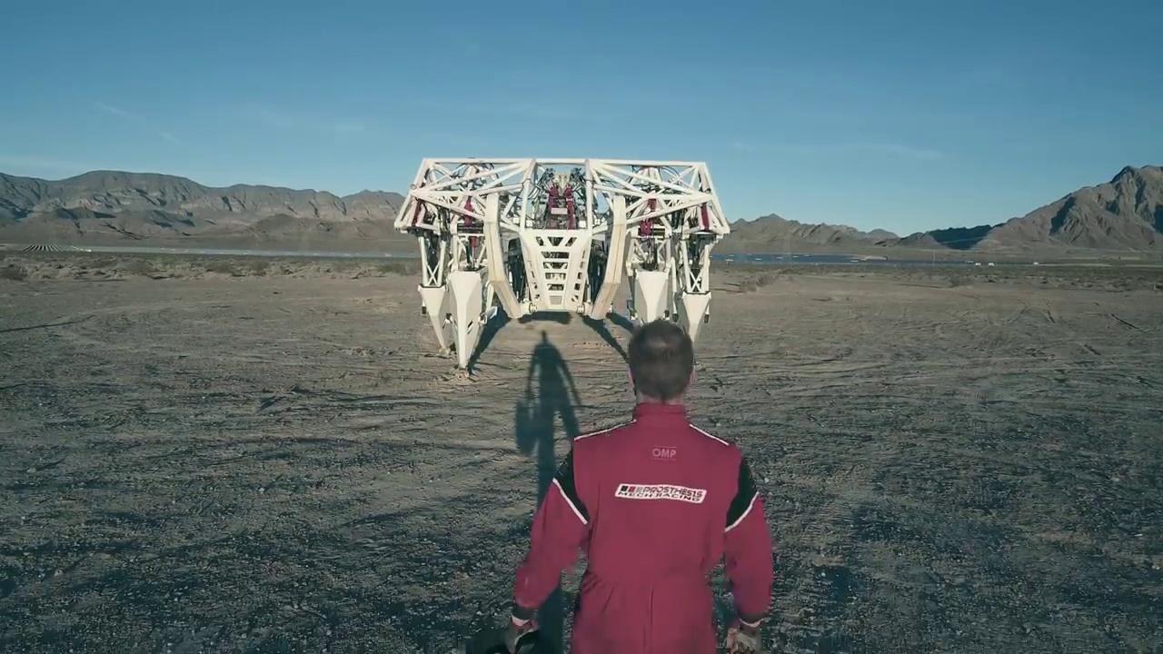 Les courses d'exosquelettes géants façon Goldorak, c'est pour bientôt