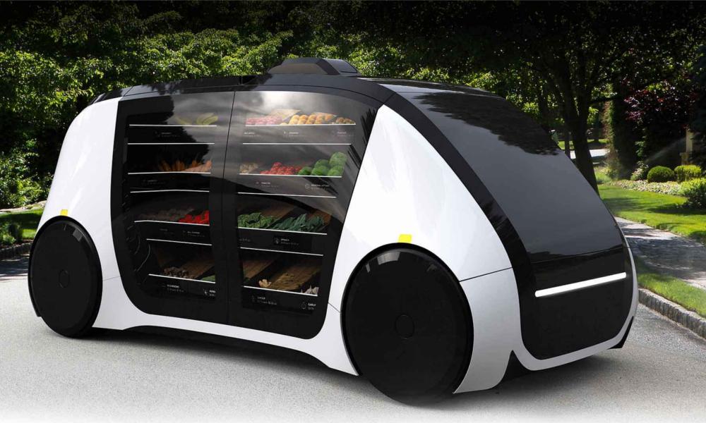 Ce robot-épicier vous livre 5 fruits et légumes par jour, à domicile