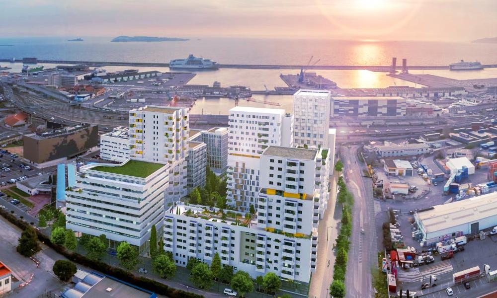 À Marseille, un écoquartier se chauffe grâce à l'eau de la Méditerranée