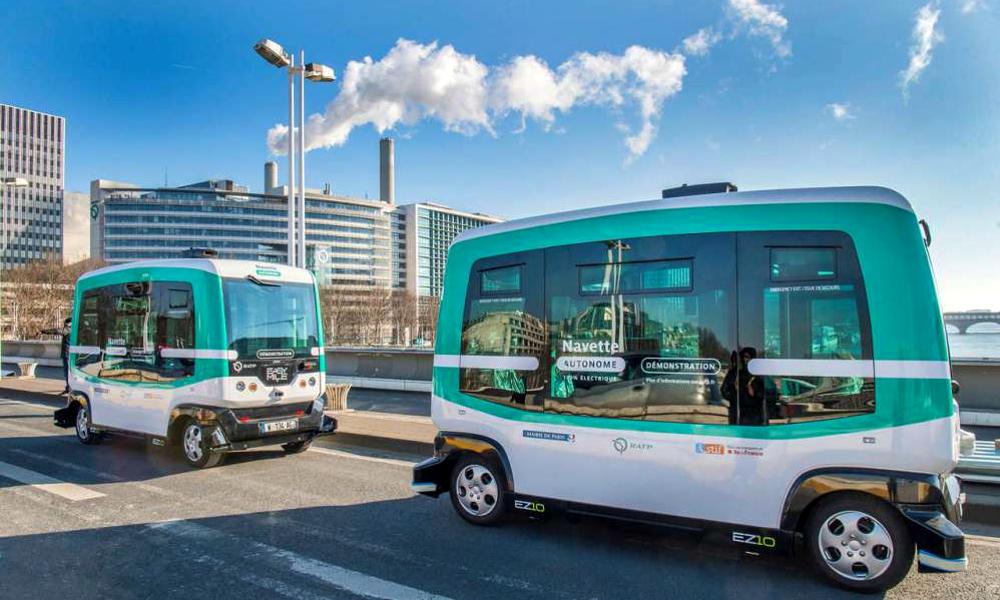 Les bus autonomes sans chauffeur bientôt autorisés en France