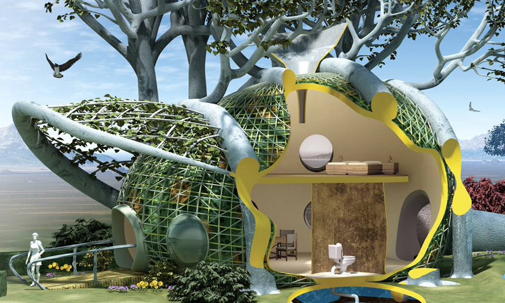 En 2040, des plantes-robots pourraient construire nos maisons