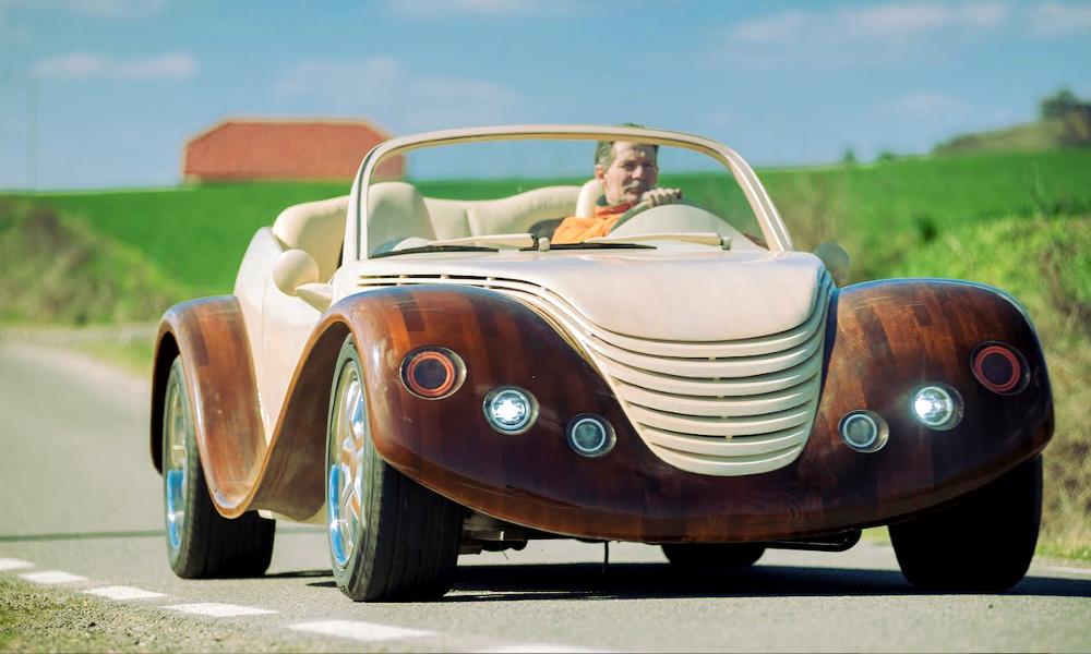 Des voitures en bois aussi solides que l'acier : c'est possible