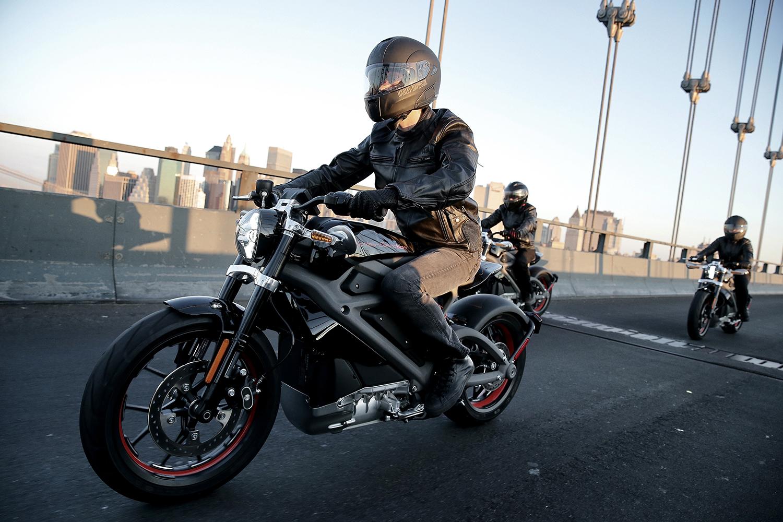 Les motos Harley Davidson passent aussi à électrique