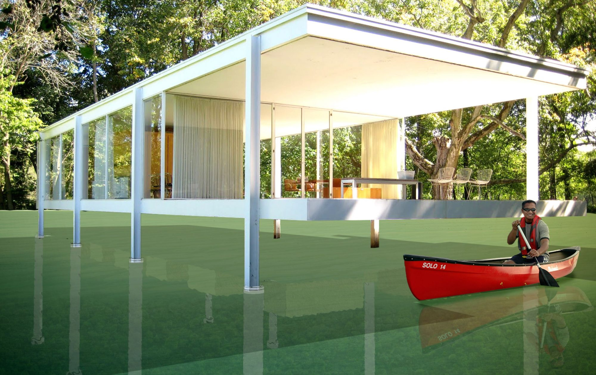 Faire flotter sa maison pour éviter les inondations