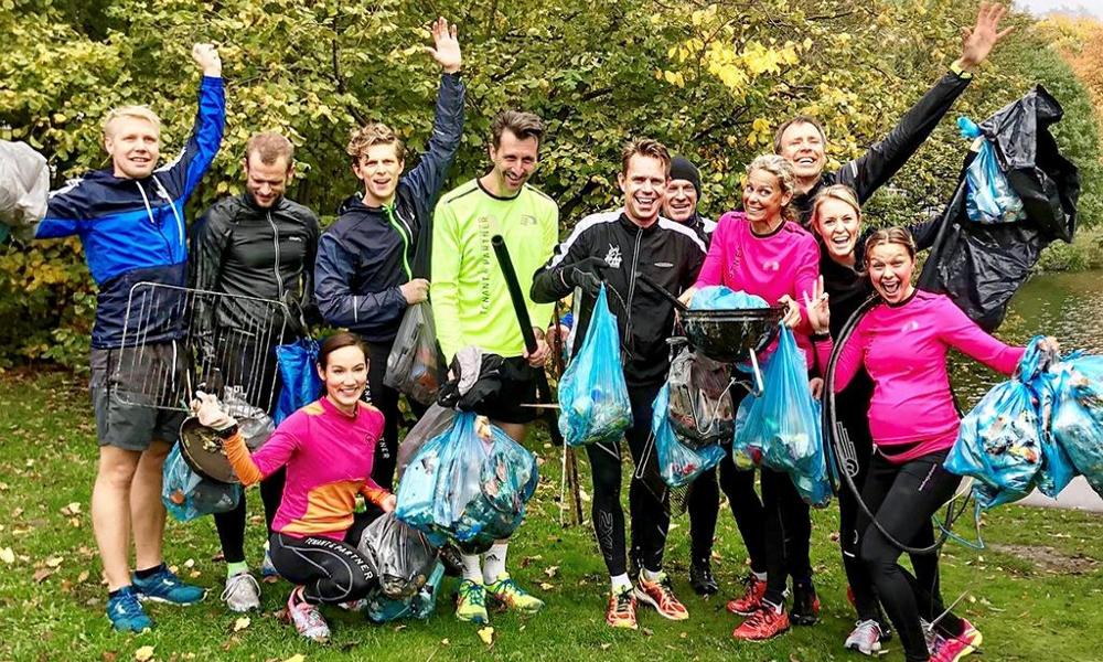 Idée du week-end : ramasser des ordures pendant son jogging