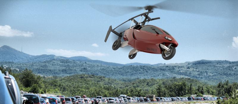 Cette voiture volante est la solution ultime pour éviter les bouchons