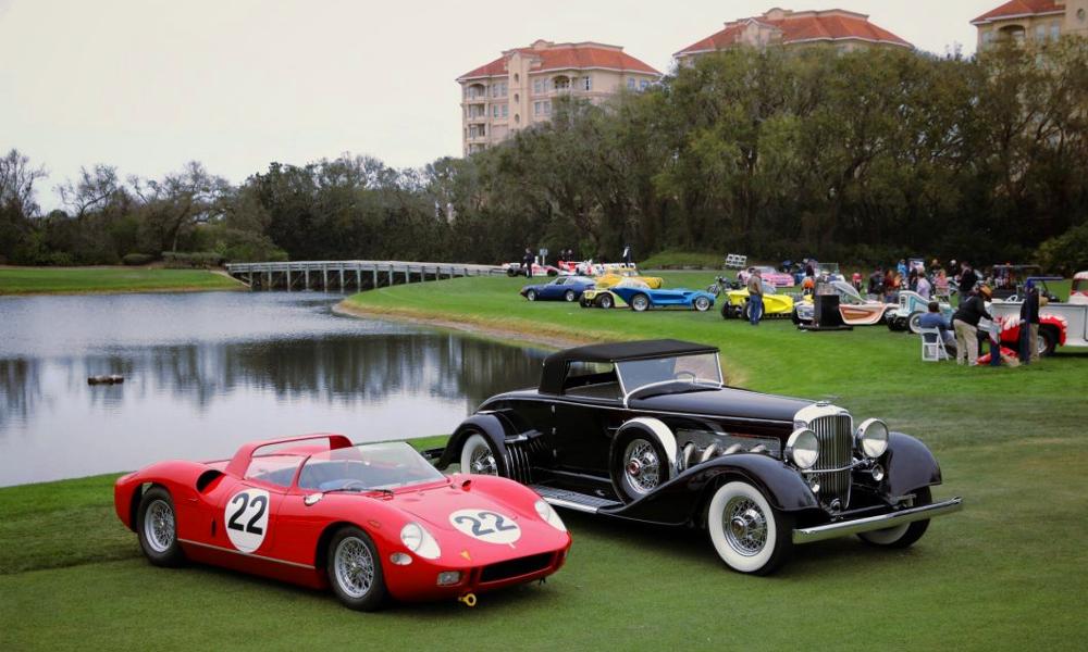 Aux USA, il existe un concours d'élégance réservé aux voitures