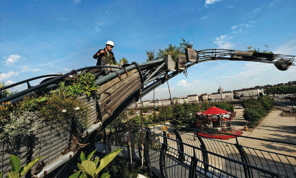 Nantes va construire le plus haut manège de France