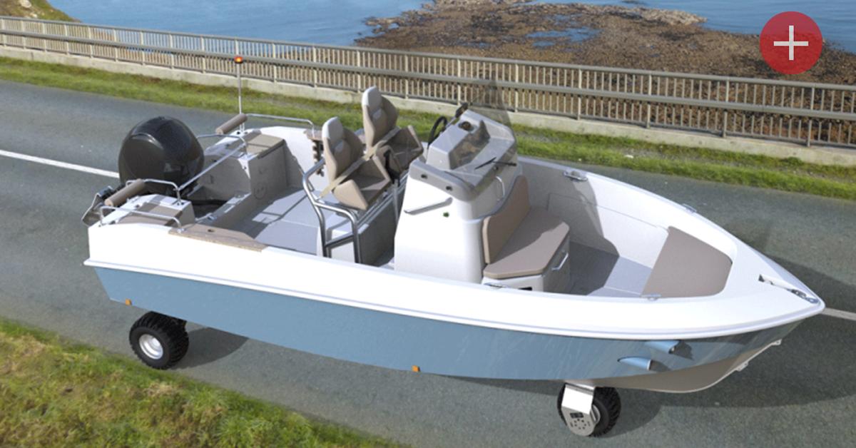 Balance ton port: un Breton invente le bateau-voiture