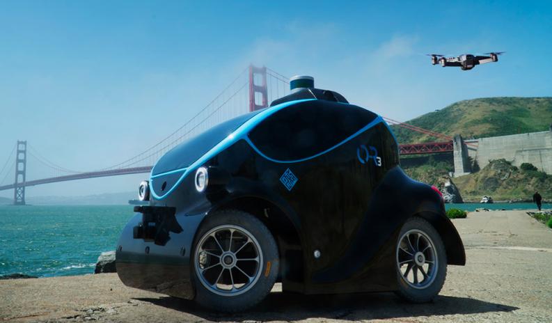Plus fort que RoboCop : des robots-voitures pour traquer les criminels
