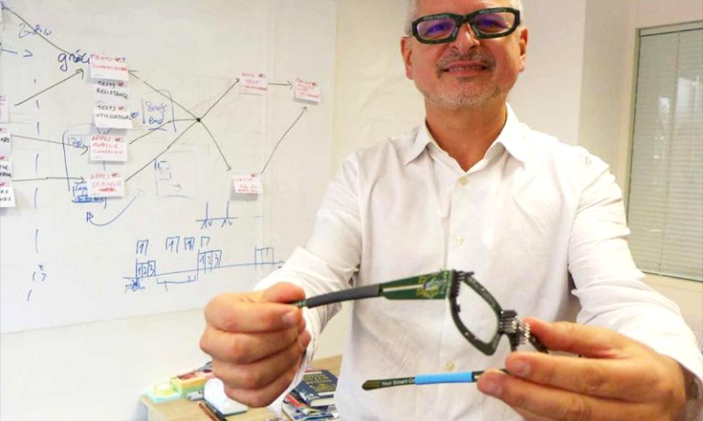 Un Niçois invente des lunettes connectées pour ne plus s'endormir au volant