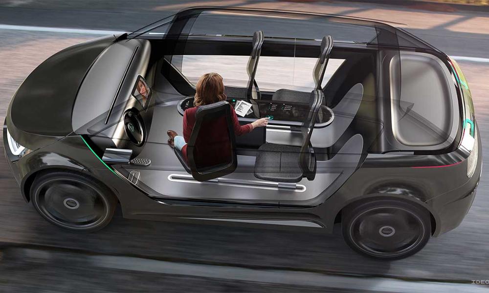 Demain votre voiture sera un open space