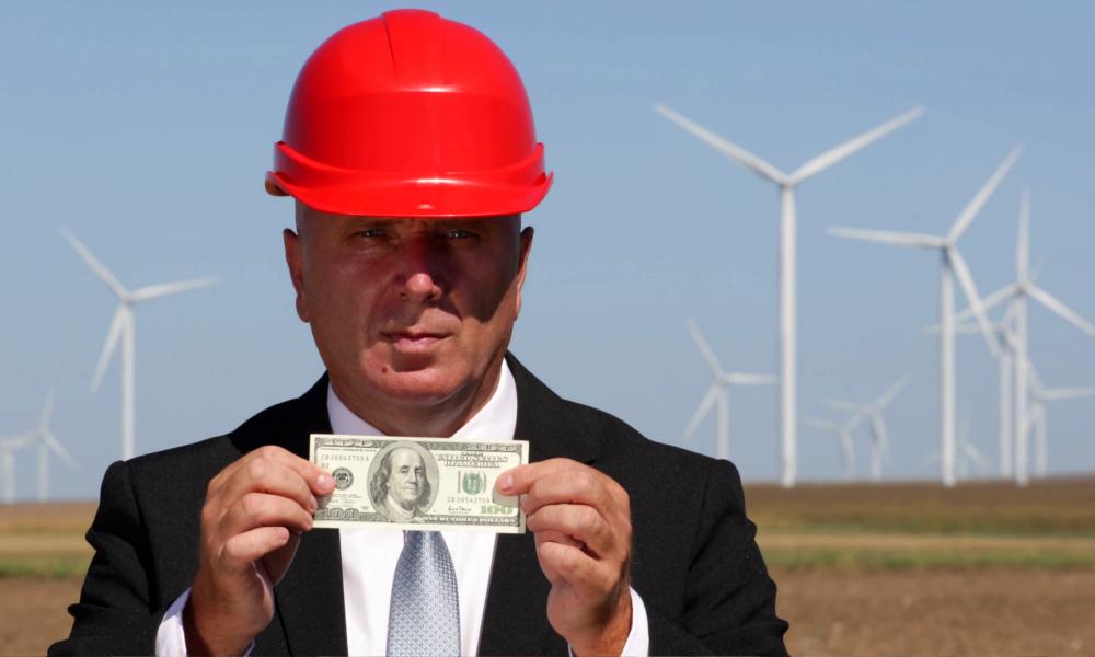 Pour devenir riche, il faut investir dans les éoliennes