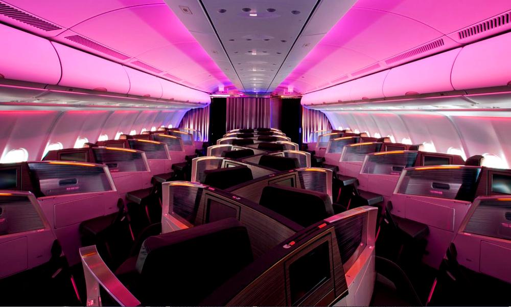 Des avions avec des fauteuils «couple» pour se faire des câlins