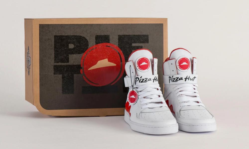 Pizza hut boite shoes