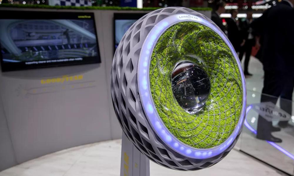 Ce pneu végétal purifie l'air et génère de l'électricité
