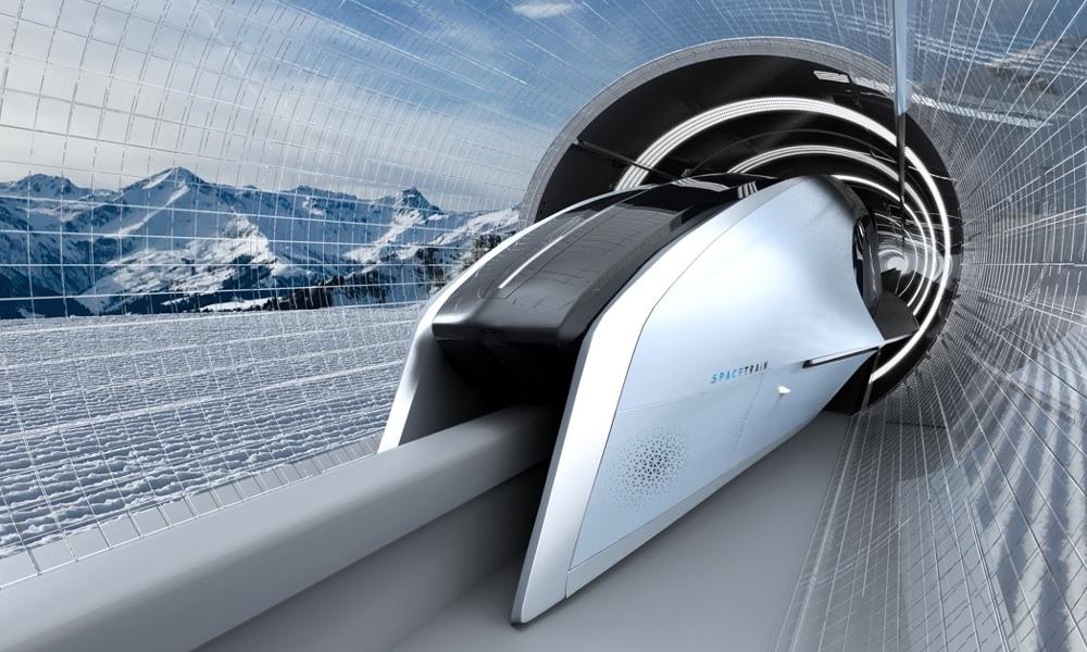 Ce TGV du futur pourrait rouler à 1000 km/h