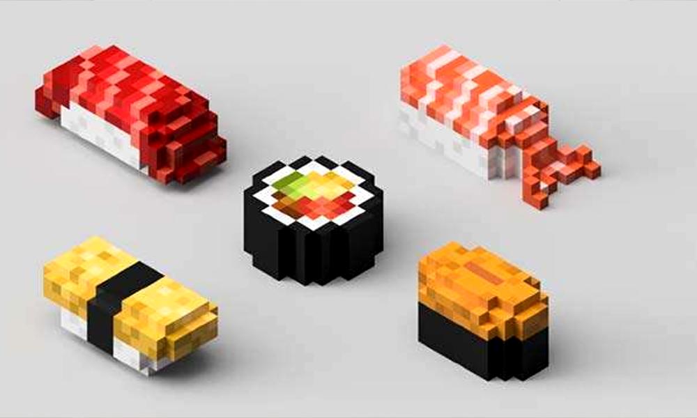 Sushis pixels