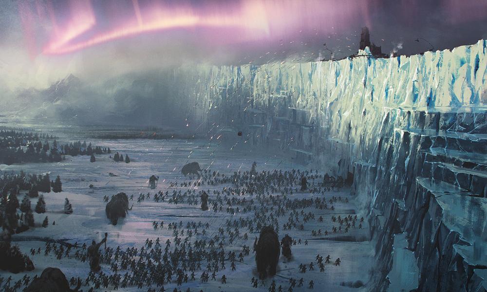 Reproduire le mur de Game of Thrones pour sauver le Groenland ?
