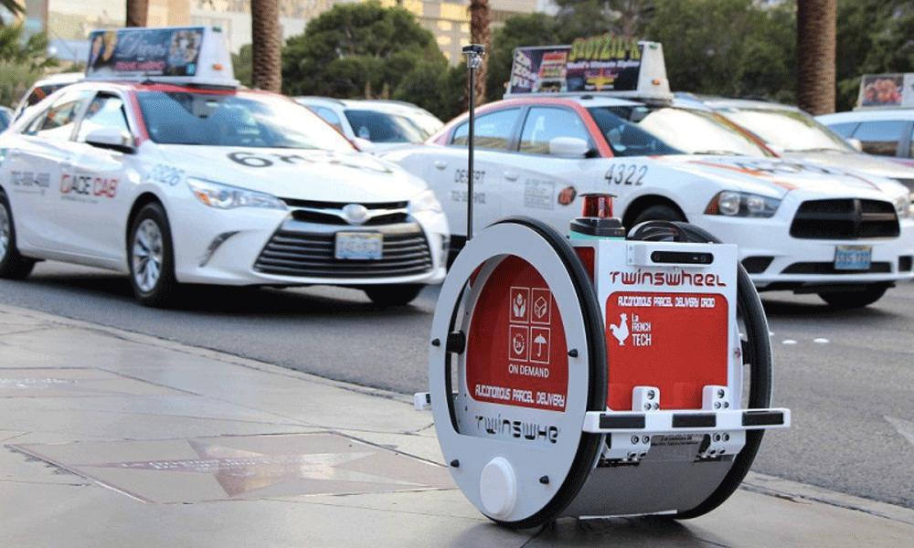 Inspiré de Star Wars, voici le premier robot livreur français