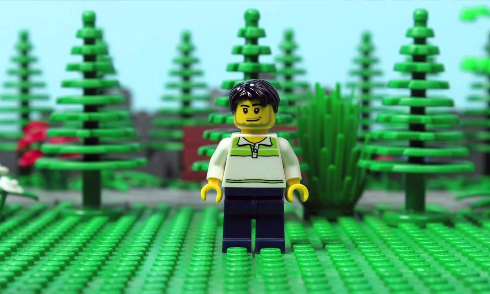 LEGO se met au vert avec un plastique végétal