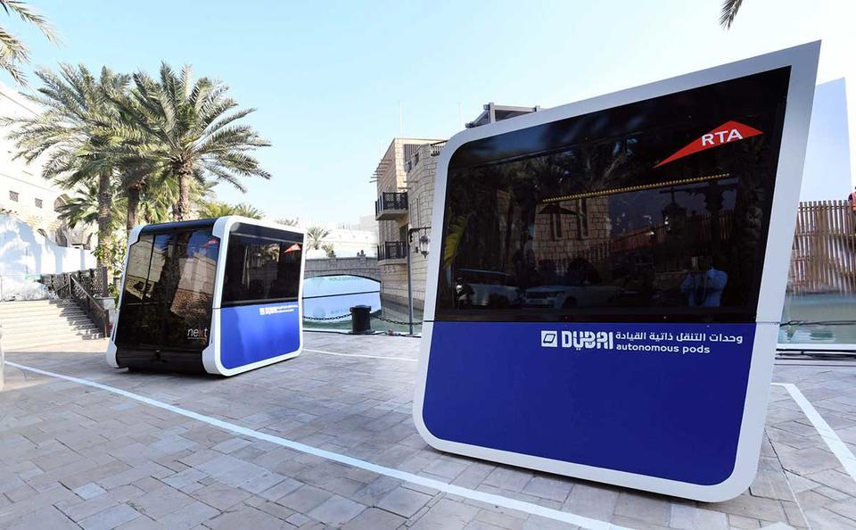 Dubai lance ses mini-bus électriques et autonomes