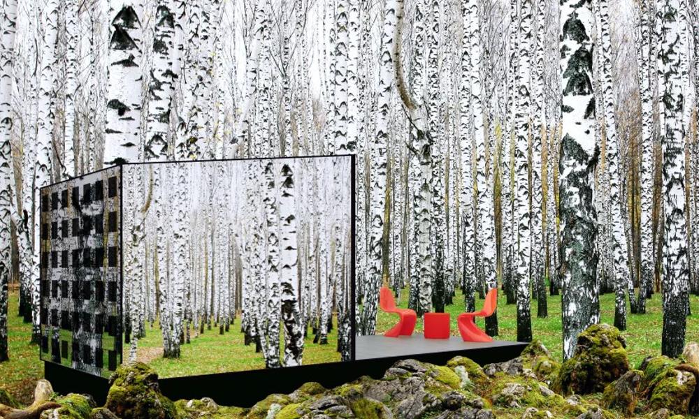 Disparaitre dans la nature grâce à cette maison invisible