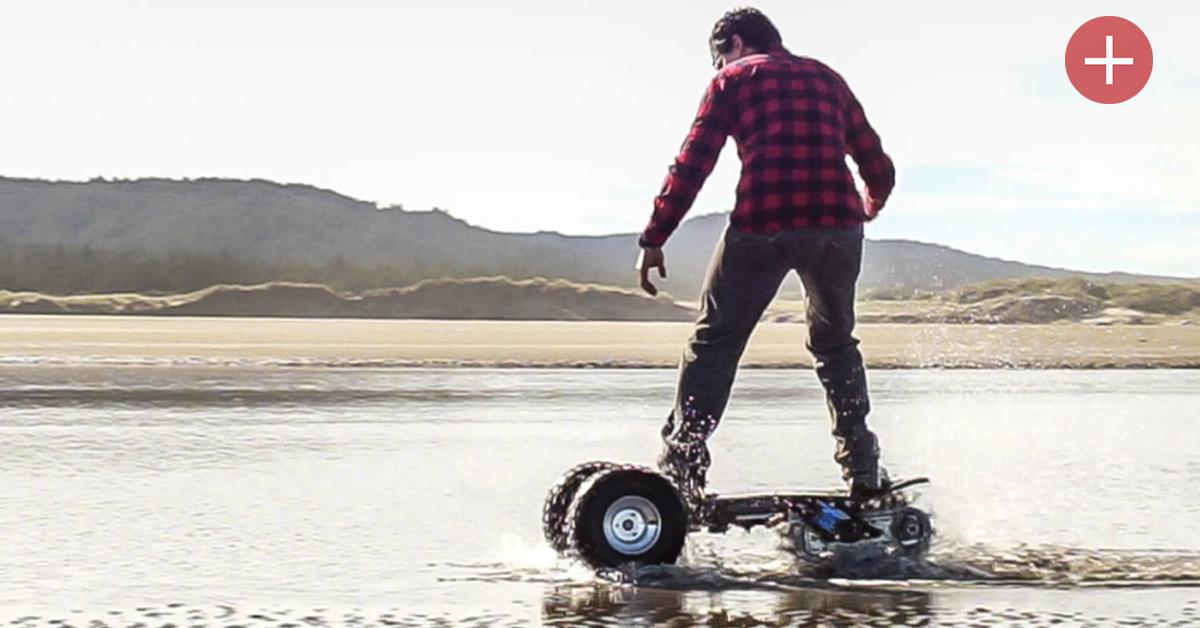 Qui veut un skate électrique et tout-terrain ?
