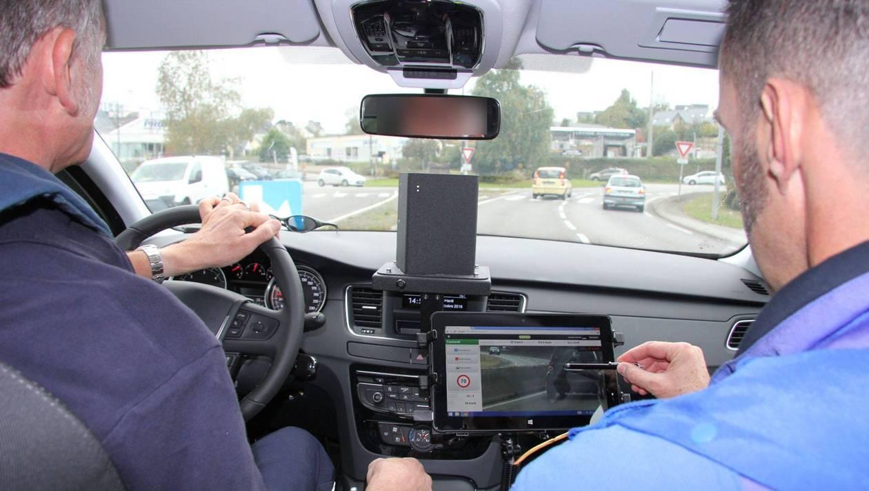 Les radars cachés embarqués sur des voitures privées sont-ils illégaux ?