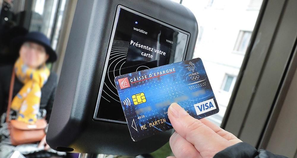 À Dijon, la carte bancaire devient un ticket de transport