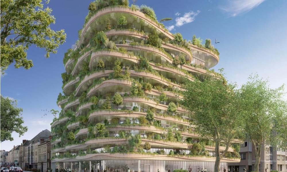 Cet immeuble-ferme pourrait nourrir ses habitants