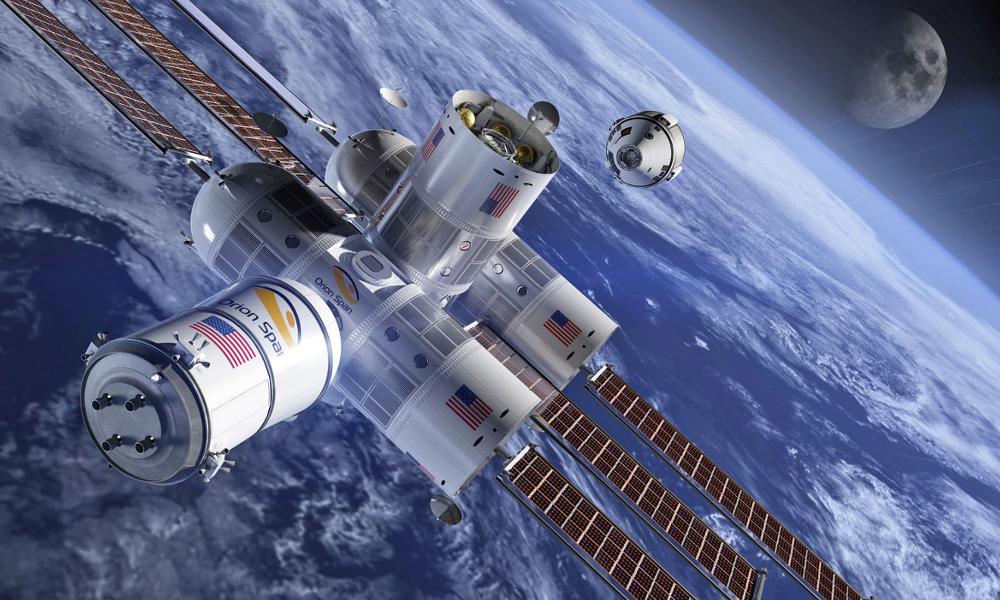 Le premier hôtel spatial ouvrira en 2022