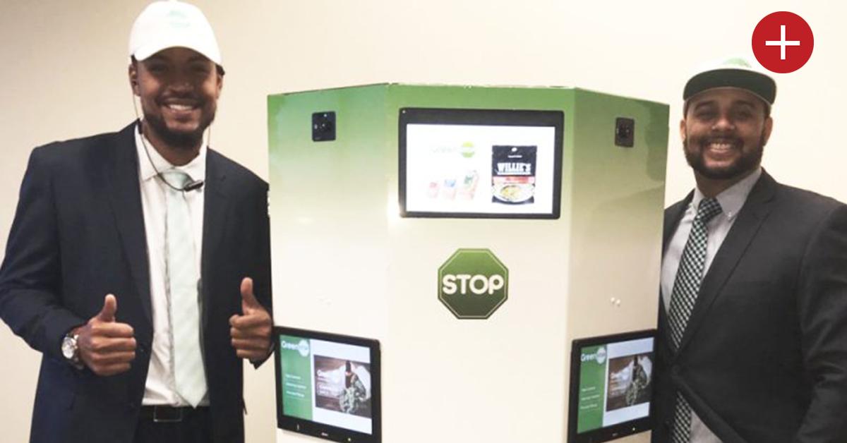 Première mondiale: un distributeur automatique de weed