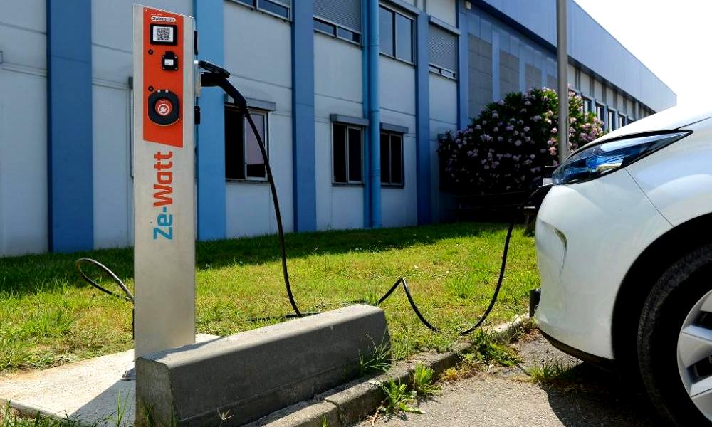 Grâce à Ze-Watt, les Toulousains peuvent recharger leurs voitures au bureau