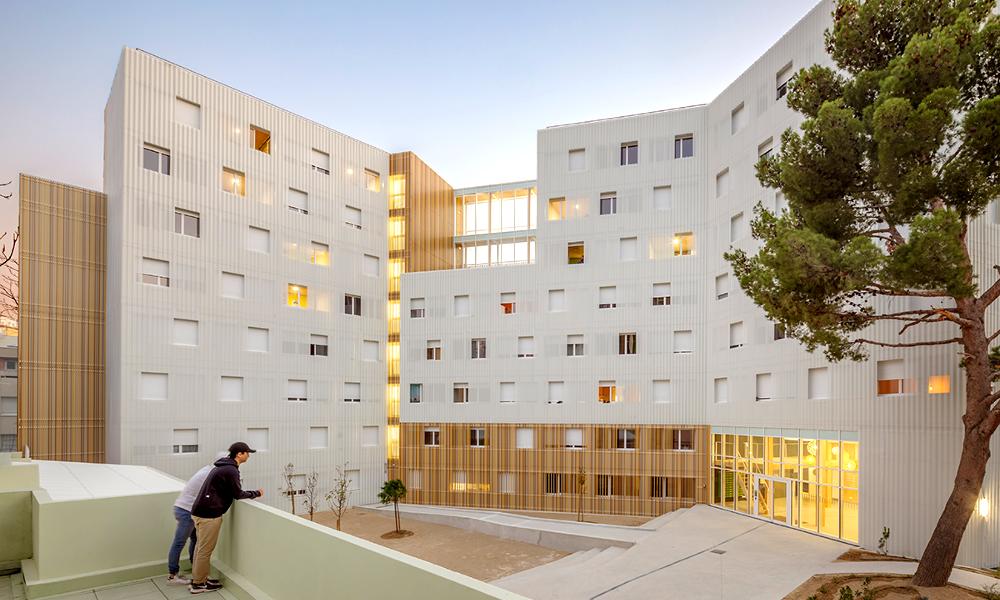 À Marseille, les étudiants vivront dans cette éco-résidence en bois