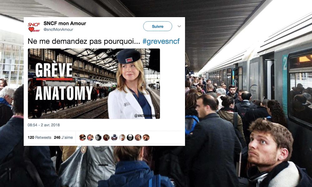 """Les """"meilleures"""" réactions d'internautes face aux grèves SNCF"""