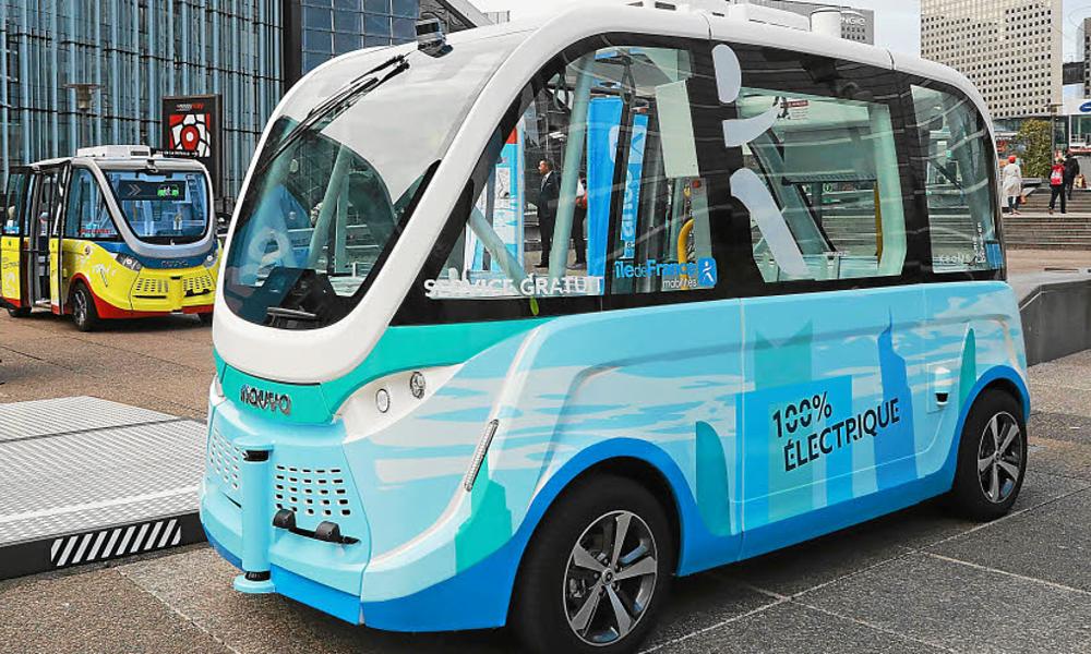 Nantes branche ses premiers minibus autonomes