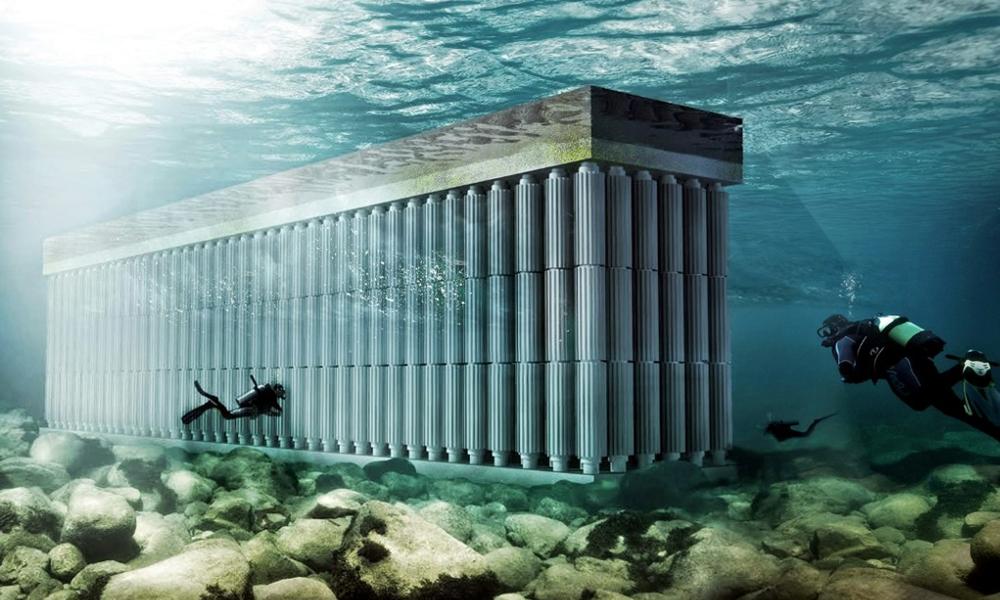 Cette éolienne sous-marine est la 7ième merveille du monde