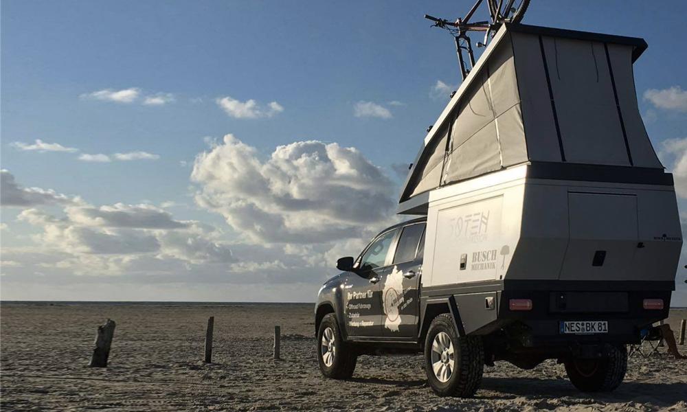 Les fans de camping vont adorer cette maison mobile