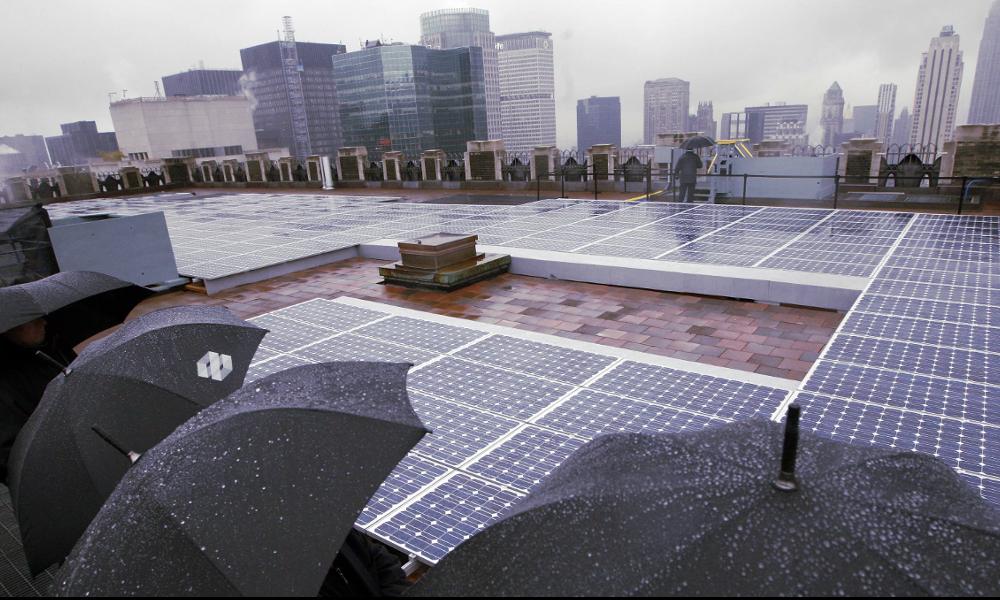 Ces panneaux solaires fonctionnent quand il pleut