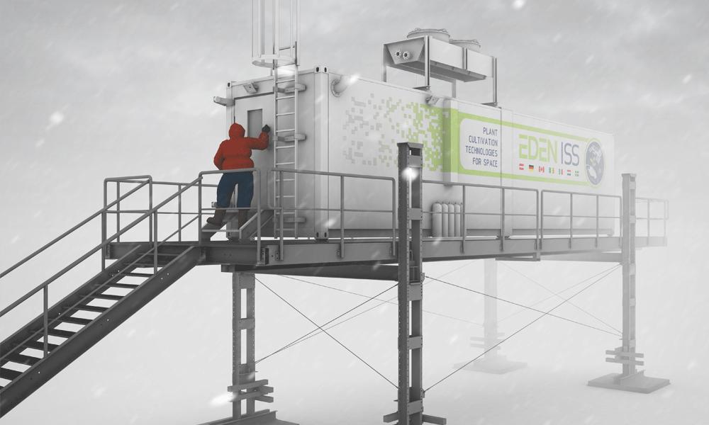 Faire pousser des légumes en Antarctique pour préparer la conquête de Mars