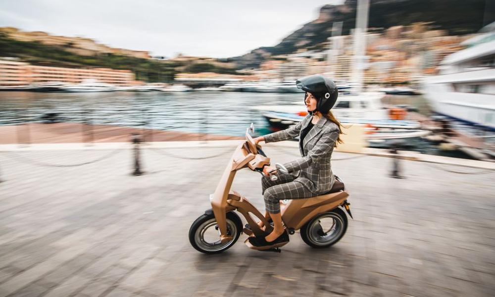 Ujet, le scooter électrique jamais en panne sèche