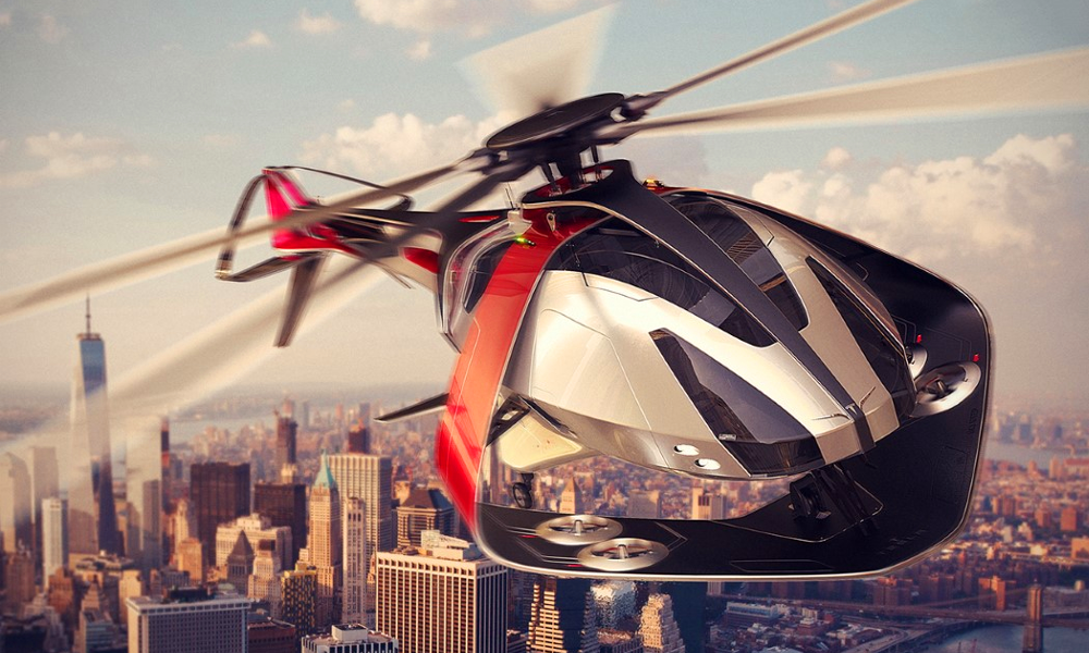 Cet hélicoptère électrique pourrait bientôt déchirer le ciel