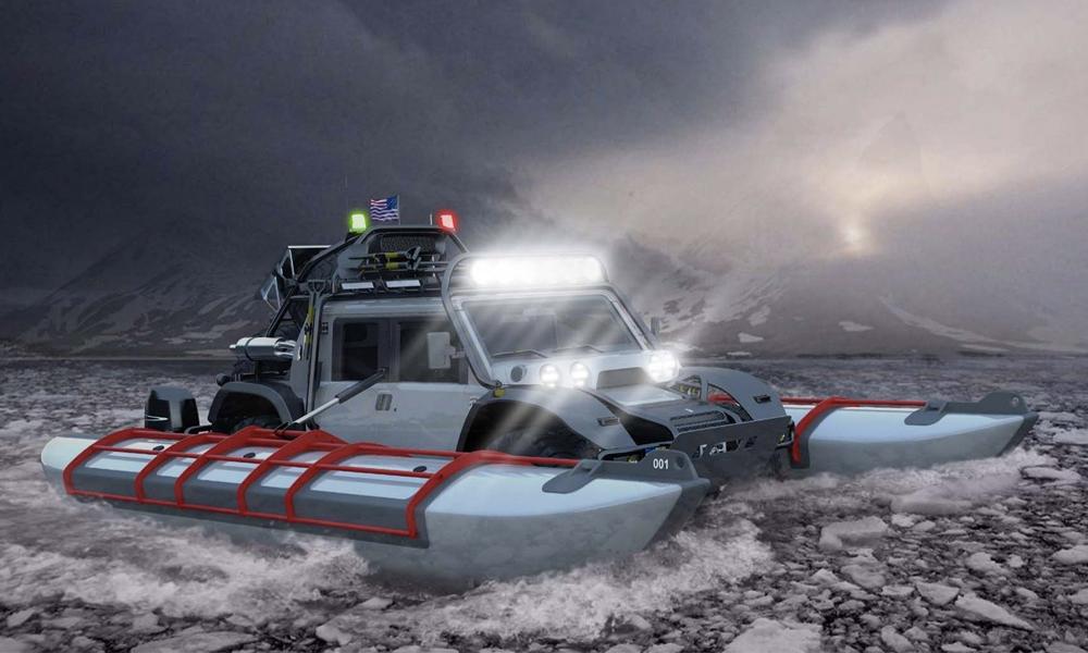 Ce 4×4 amphibie est le véhicule tout terrain ultime