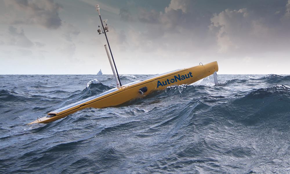 AutoNaut, le drone marin qui va sauver les océans